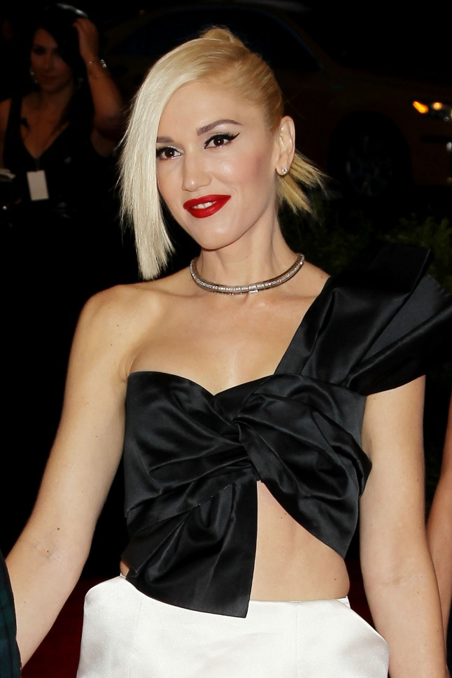 Gwen Stefani in Platinum Jewelry at the Met Gala, New York, New York - 05/06/2013 - PUNK: Chaos To Couture Costume Institute Gala at the Metropolitan Museum of Art. PHOTO by: Marion Curtis/Startraksphoto.com -MC98377543)