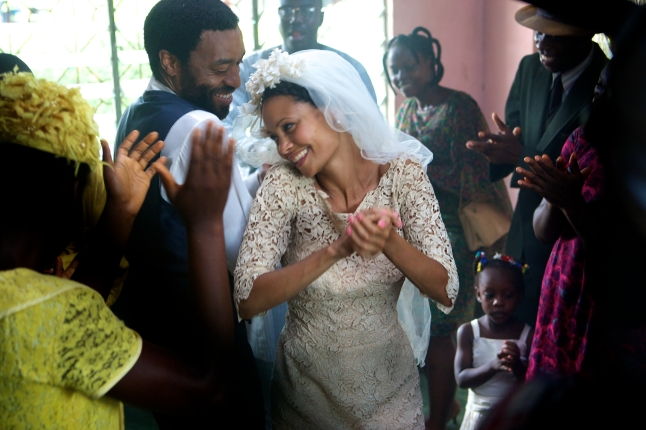 Biyi Bandele's HALF OF A YELLOW SUN, adapted from the novel and starring Chiwetel Ejiofor and Thandie Newton.
