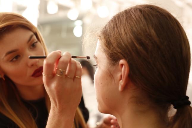 Avon Global Celebrity Makeup Artist Lauren Andersen Creates Modern and Minimalist Look at Elizabeth and James Spring 2014 Fashion Week Presentation