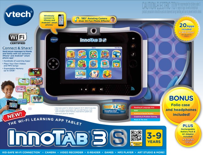 InnoTab® 3S Exclusive Bundle from VTech®