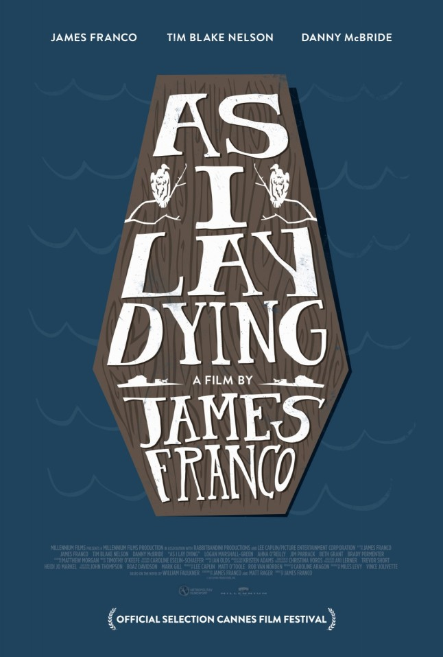 James Franco's AS I LAY DYING movie poster