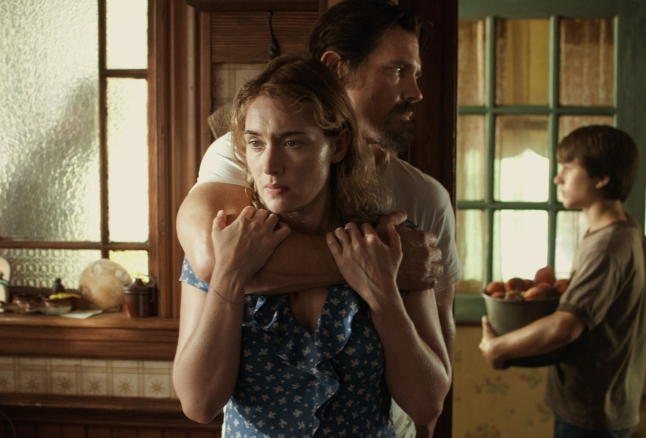(Left to right)  Kate Winslet as Adele, Josh Brolin as Frank and Gattlin Griffith as Henry in LABOR DAY directed by Jason Reitman to be released by Paramount Pictures and Indian Paintbrush.