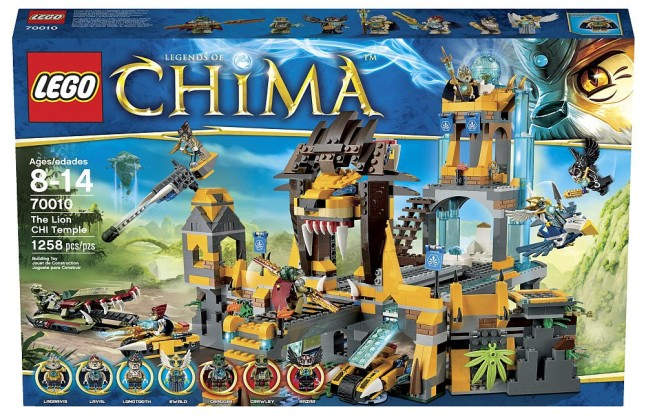 LEGO Legends of Chima The Lion CHI Temple (70010) 2