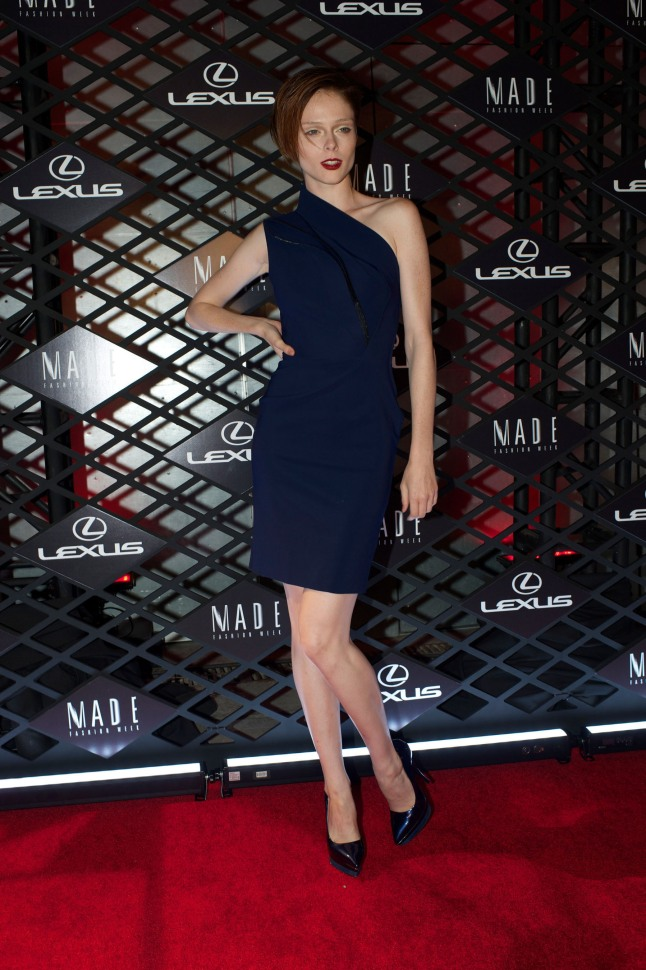 Supermodel Coco Rocha at Lexus Design Disrupted.  (PRNewsFoto/Lexus)