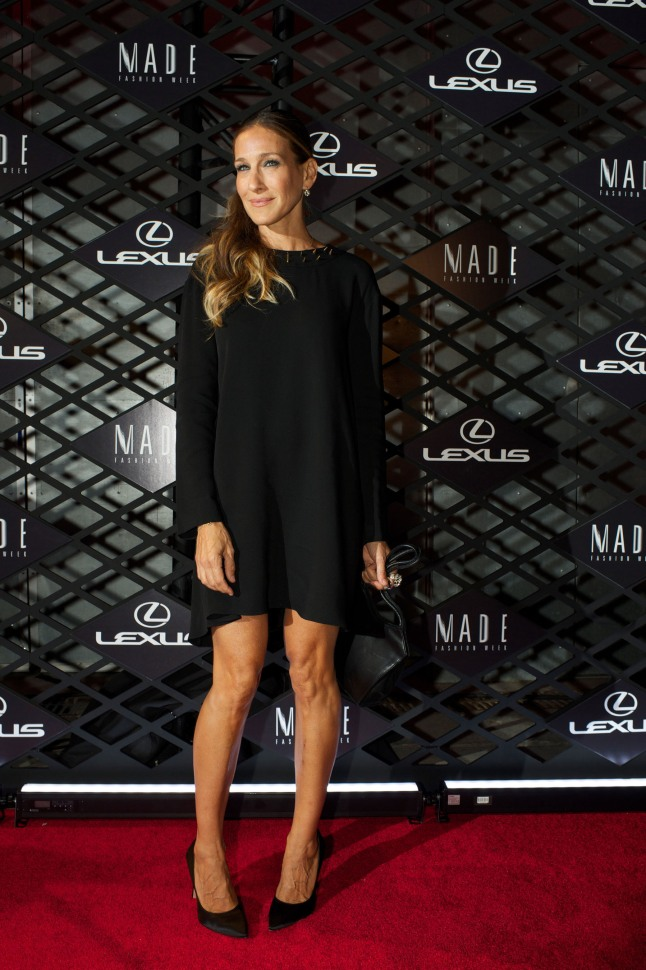 Actress Sarah Jessica Parker attends Lexus Design Disrupted event.  (PRNewsFoto/Lexus)