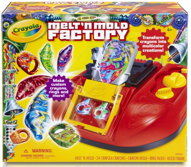 Crayola® Melt N' Mold Factory from Crayola®