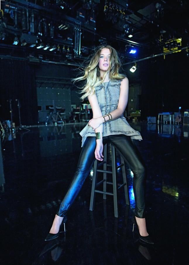 Natalie Bergman in McQ by Alexander McQueen