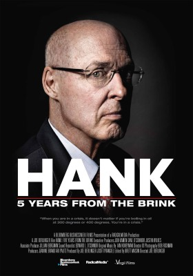 "Film poster for ""HANK: Five Years From the Brink"" (PRNewsFoto/Netflix, Inc.)"