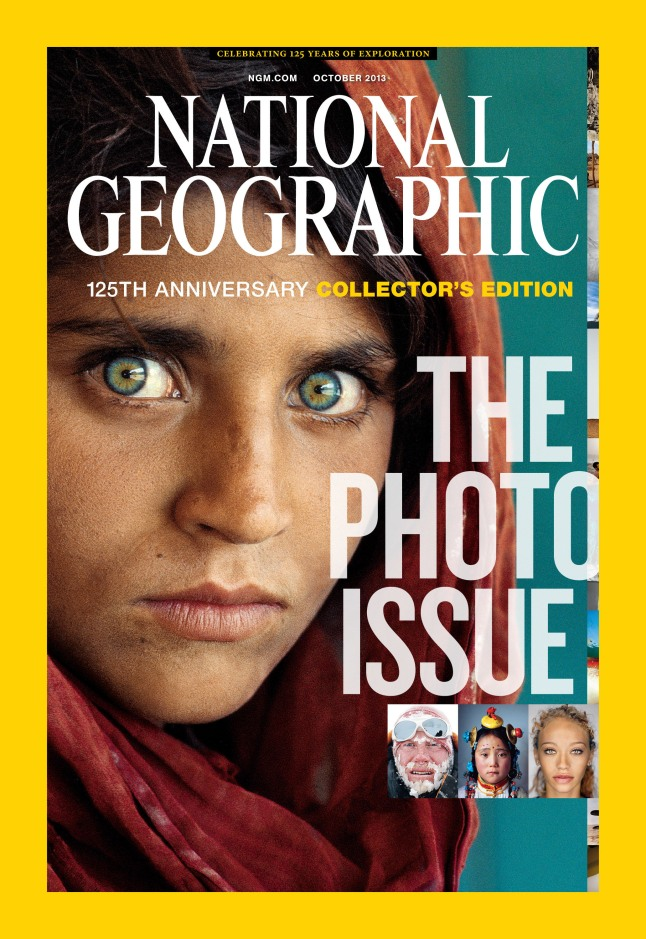 October Issue of National Geographic Magazine Celebrates 125th Anniversary.  (PRNewsFoto/National Geographic)