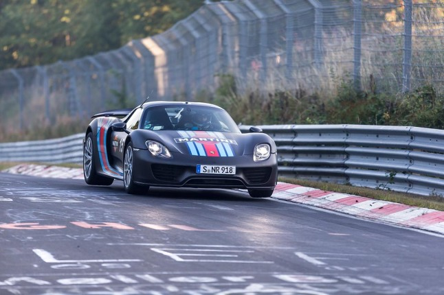 Record Run 918 Spyder at Nürburgring