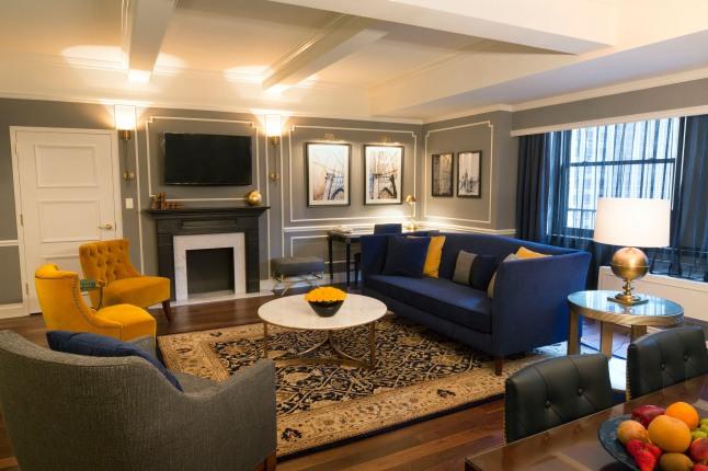 The Randolph Suite.  (PRNewsFoto/Warwick New York Hotel)