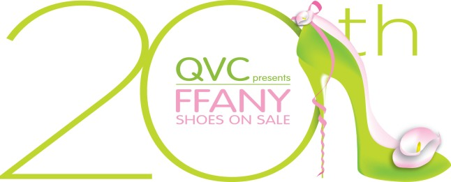 "QVC Presents ""FFANY Shoes on Sale"" 20th Anniversary--Thursday, October 10 from 6 to 9 PM ET on QVC.  (PRNewsFoto/QVC, Inc.)"