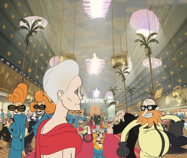 Folman's mind-bending follow up to 'Waltz With Bashir' THE CONGRESS, with Robin Wright, Harvey Keitel, Jon Hamm, Paul Giamatti