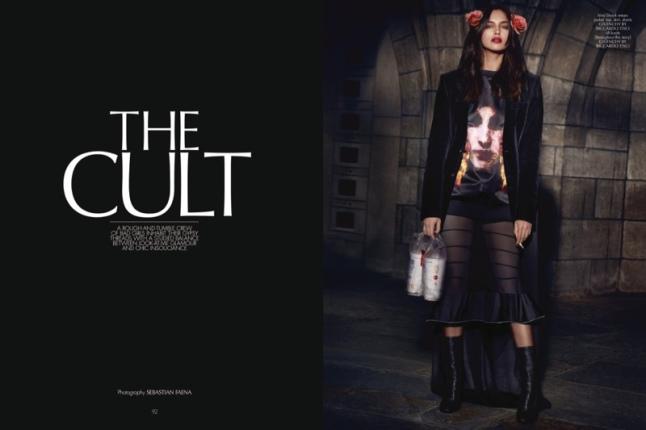 'The Cult' by Sebastian Faena starring Irina Shayk