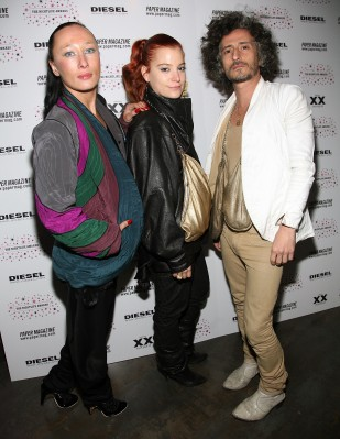 NEW YORK - OCTOBER 29:  (L-R) Designers of Three As Four Angela Donhauser, Adi Gil and Gabriel Asfour  attends Paper Magazine's third annual nightlife awards held at Spotlight Live on October 29, 2007 in New York City.  (Photo by Astrid Stawiarz/Getty Images)
