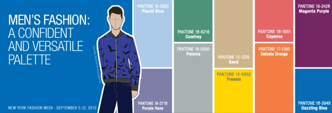 Top Colors for Men's Fashion for Spring 2014