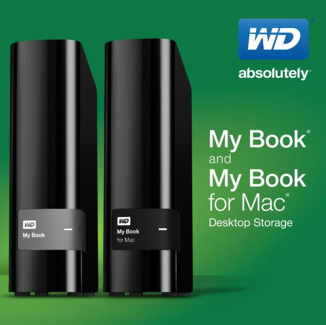 WD(R)'s New Line Of External Desktop Drives Offer Extreme Capacities And Data Protection Features.  (PRNewsFoto/WD)