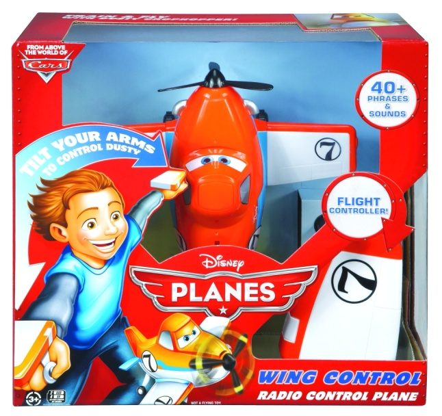 Disney Planes Wing Control Dusty Crophopper Remote Control Plane from Mattel®