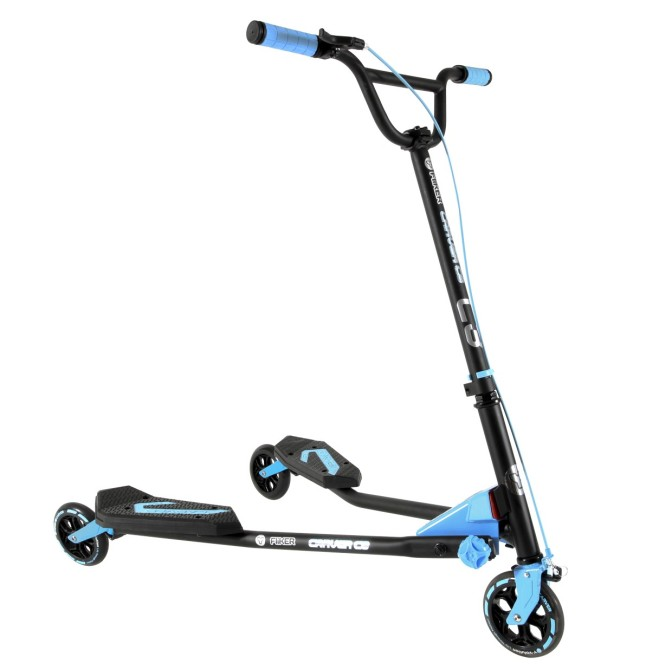 Y Fliker™ Carver Scooter (blue) from Yvolution™