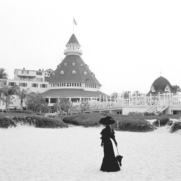 Ghost of Kate Morgan at The Hotel Del Coronado in san diego, Ca