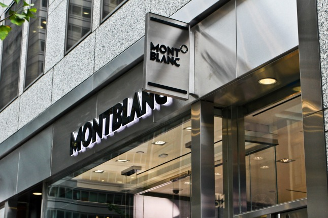 Montblanc Boutique on Madison Avenue (Photo Credit: C. Mioses de Pena)