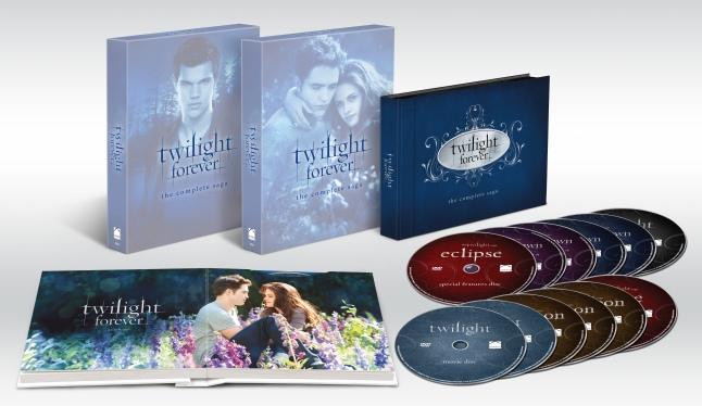Twilight Forever: The Complete Saga Box Set on DVD