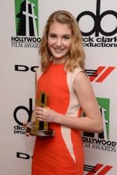 Actress Sophie Nelisse