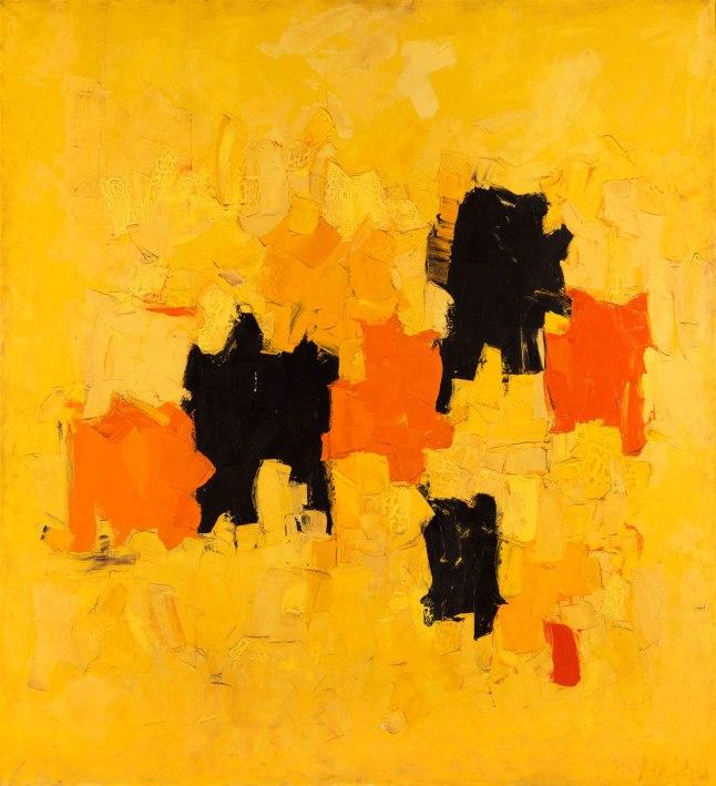 "Olga Albizu, ""Radiante"", 1967, oil, Smithsonian American Art Museum, Gift of JPMorgan Chase"