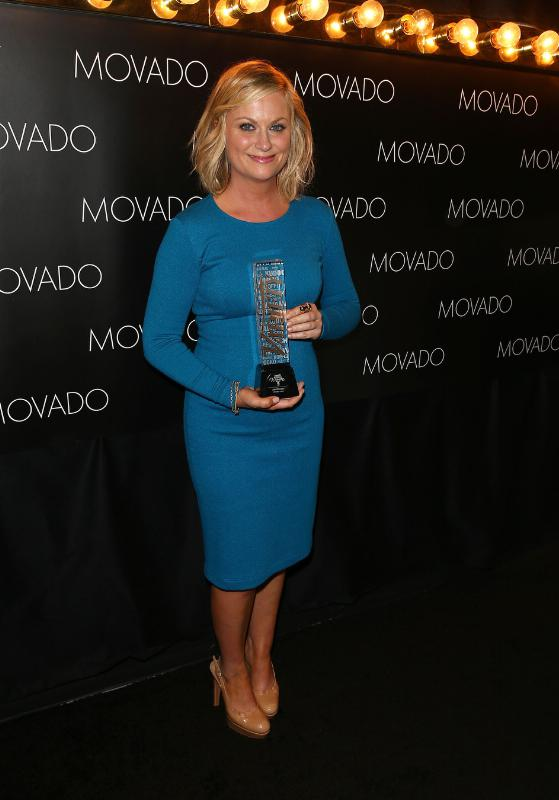 Amy Poehler.  (PRNewsFoto/Movado Group, Inc.)