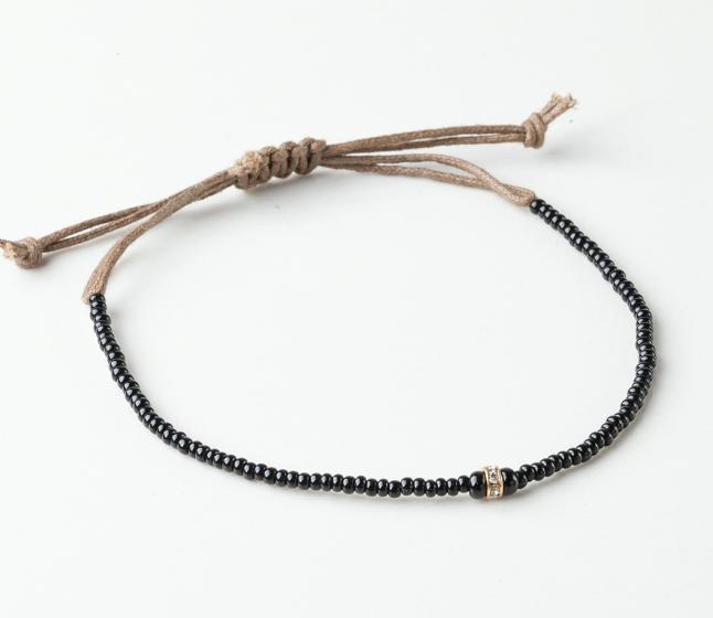 Ashe Beaded Cord Bracelet