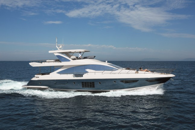 Azimut 80  from Azimut Yachts (www.azimutyachts.net) will make her debut in USA at the next Fort Lauderdale International Boat Show.