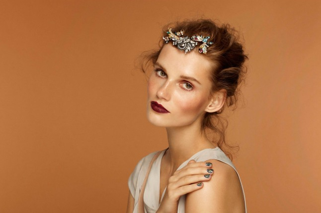 Beauty.com Launches Gems for GEMS, an Exclusive Line of Erickson Beamon Hair Accessories for Charity. (PRNewsFoto/Beauty.com)
