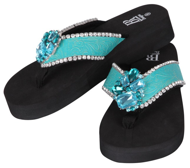 Introducing BRD's, the ultimate customizable flip flop with more than 220 interchangeable straps and nearly 150 different jewels from which to choose. Visit BrandiReneeDesigns.com for more information. (PRNewsFoto/Brandi Renee Designs, Inc.)