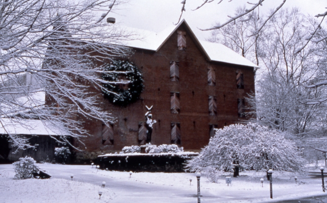 Situated in a historic grist mill, the Brandywine River Museum in scenic Chadds Ford is best known for its collection of works by three generations of the Wyeth family. Credit: Photo courtesy of the Brandywine River Museum