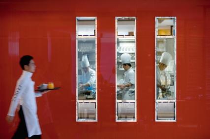 The Mandarin Oriental, Hong Kong - Cafe Causette