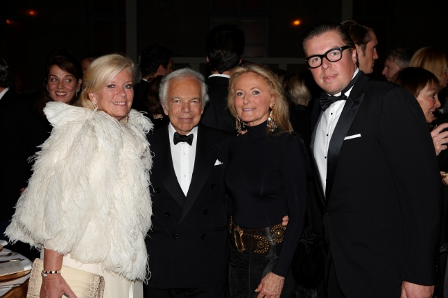 Chantal Henckes, Ralph Lauren, Ricky Lauren, Geoffrey de Shapper Bruggeman (Carter Berg)