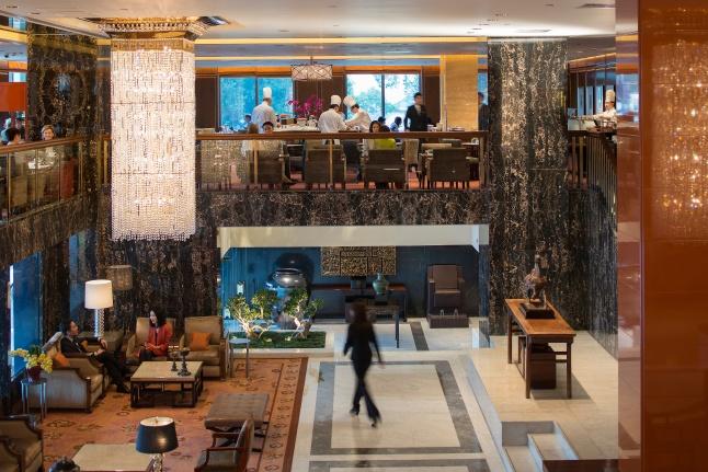 The Mandarin Oriental, Hong Kong - Clipper Lounge