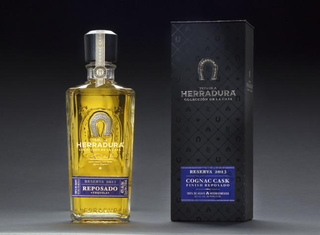 Coleccion de la Casa, Reserva 2013 - Cognac Cask Finish Reposado.  (PRNewsFoto/Tequila Herradura)