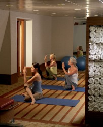 All three of Crystal Cruises' 2013 Mind, Body, and Spirit-themed cruises offer complimentary fitness classes, ranging from yoga and Pilates Reformer to Tai Chi and nutrition education.  (PRNewsFoto/Crystal Cruises)