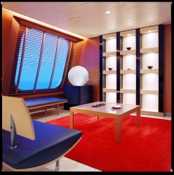 Crystal Serenity - Crystal Spa & Salon Reception Area