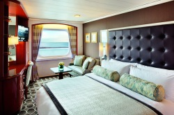 Crystal Serenity Stateroom with Balcony