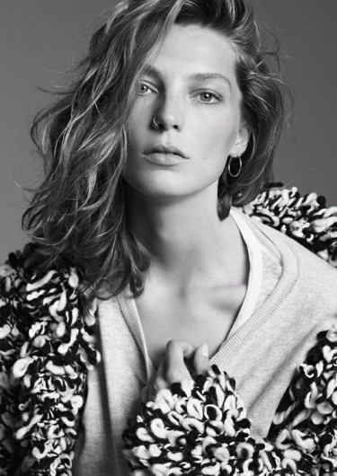 Daria Werbowy in the Isabel Marant for H&M Campaign Photo by Karim-Sadl