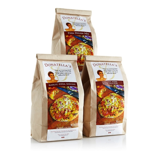 Donatella Arpaia Assorted Pizza Dough Mix - 3-pack