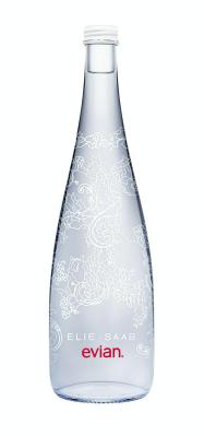 evian & Elie SAAB Limited Edition 2014 Bottle.  (PRNewsFoto/evian)