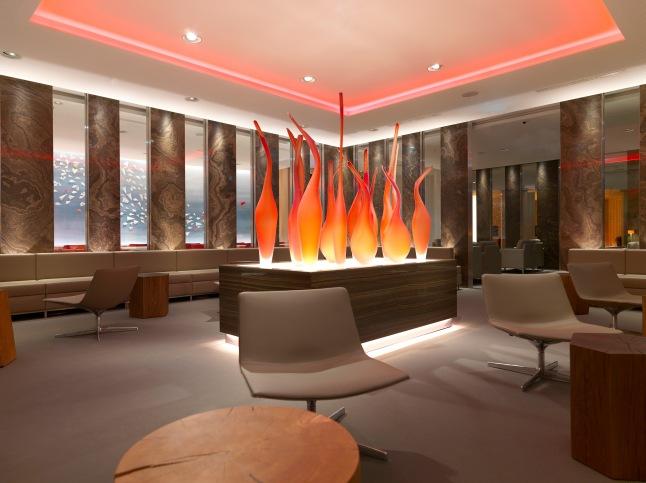 Air Canada's Frankfurt International  Airport Maple Leaf Lounge