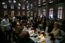 A view of atmosphere during a private dinner following the presentation of the Ralph Lauren Fall 13 Collection Show at Les Beaux-Arts de Paris on October 8, 2013 in Paris, France. On this occasion Ralph Lauren celebrates the restoration project and patron sponsorship of L'Ecole des Beaux-Arts.