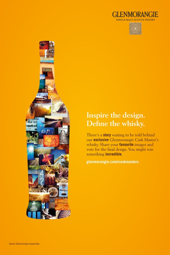 Glenmorangie's Cask Masters program gives enthusiasts the chance to help create a new Single Malt from selecting and naming the whisky, to designing the packaging and even influencing the launch event.  (PRNewsFoto/Glenmorangie)