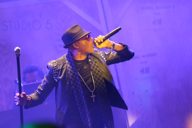 . Live performances by Grandmaster Melle Mel and Rappers Delight, originally of Sugarhill Gang