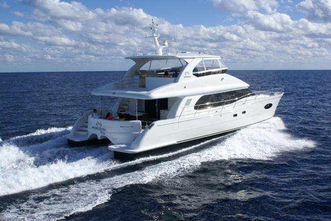 Horizon Yacht USA - Horizon PC60 Power Catamaran