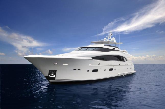 Horizon Yacht USA - Horizon  RP110 Raised Pilothouse Superyacht